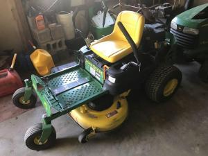 JD Tractor w/Tiller, Mower, Harley, Furniture & More