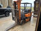 Toyota forklift has 9500hrs