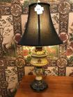 "Vintage table lamp 31.5"" tall"