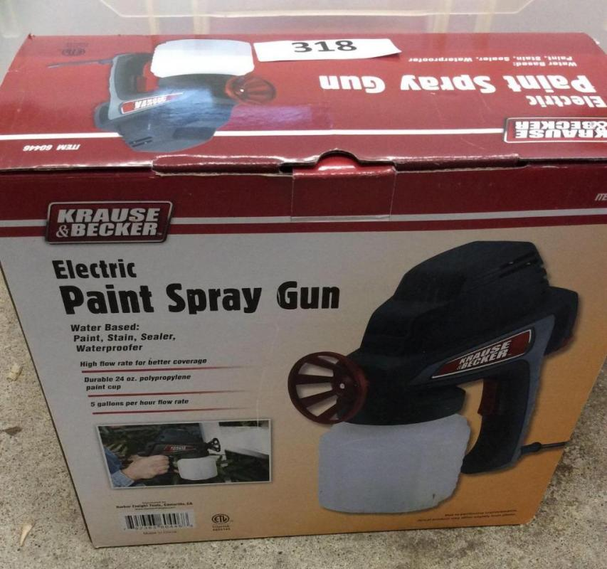 Krause And Becker Electric Paint Pray Gun