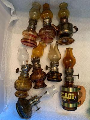 Lot of misc miniature lanterns