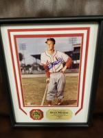 STAN MUSIAL AUTOGRAPHED (FRAMED)