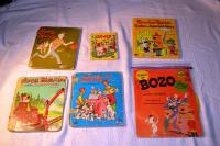 15  Tell-a-Tale Story Books, Songs of Bozo Story  78 Record