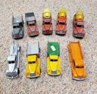 Group of 9 Vintage Tinkertoys Trucks