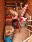 Large lot of wrapping paper & bags