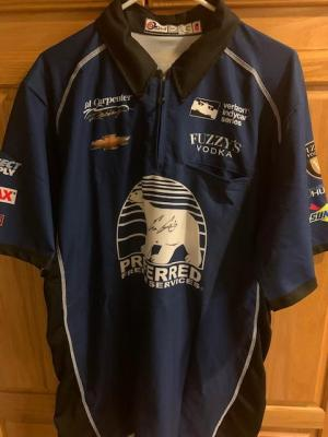 Ed Carpenter Signed Racing Jersey