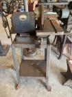Bench sander on stand