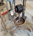 Disc sander and stand