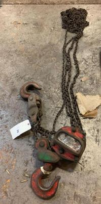 5 ton chain fall