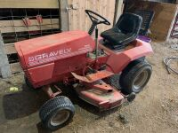 Gravely 16-G professional yard tractor with inch deck