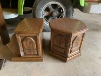 Two side tables