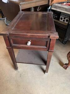 Basset Furniture one drawer night stand