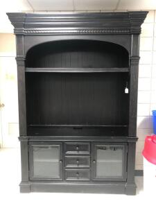 Modern 2pc entertainment cabinet