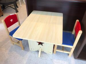 Childs table w/ 2 chairs