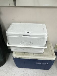 2 Coleman coolers