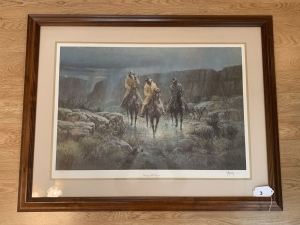 Crossing the Canyon by G. Harvey, Signed by Artist & Numbered