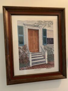Audubon House by C G Morehead, Signed by Artist & Numbered