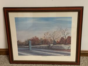 Keeneland by C G Morehead, Signed by Artist