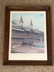 Churchill Downs by C G Morehead, Signed by Artist