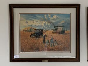Stroud Farm by Mort Kunstler, Signed by Artist & Numbered