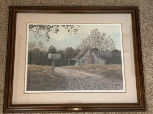 Rural Delivery by Jim Harrison, Signed by Artist & Numbered