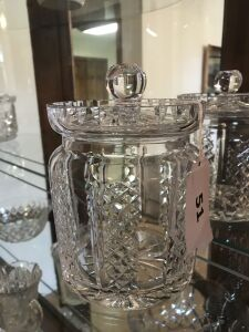 Waterford cracker jar