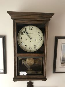 Hamilton Oak case regulator clock