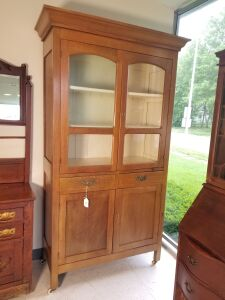 Antique Kitchen Hutch on Casters