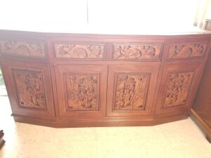 Asian Hand-Carved Buffet