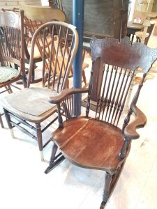 Rocking Chair and Chair
