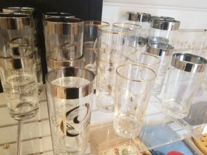 Clear Glass Tumblers