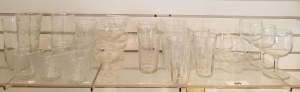 Clear Glass Stems/Tumblers/Glassware