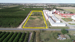 Tract 2: 5+/- acres of vacant land fronting 18th St.