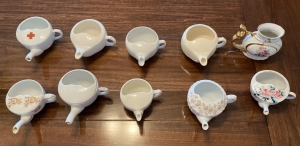 Collection of 10 Antique Neti Pots
