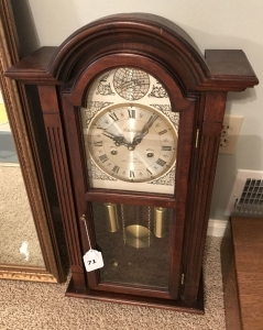 Waltham 31 day chime clock