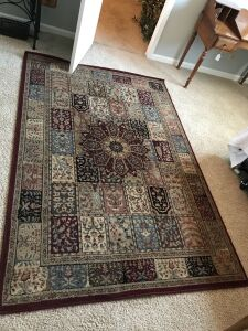 Area Rug &  2 runners
