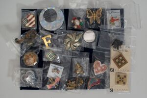 Assorted Costume Pins/Broaches