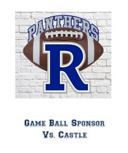 Game Ball Sponsor Vs. Castle