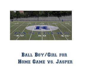 Ball Boy/Girl Vs. Jasper