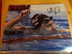 Autographed Picture of Lilly King from Olympics