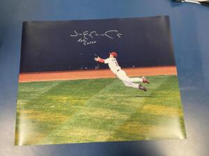 "Autographed Picture of Jim Emmonds-St. Louis Cardinals World Series ""The Catch"""