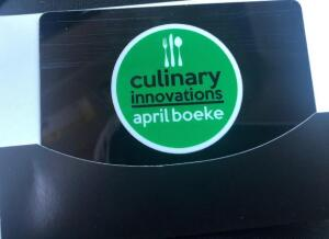 Gift Card-Culinary Innovations-April Boeke