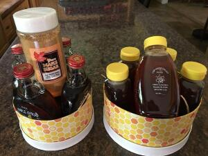 Cup Creek Valley Maple Syrup/Honey Gift Basket