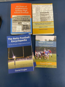 Assorted Books on Reitz Football and Southwestern Indiana High School Football by Daniel Engler