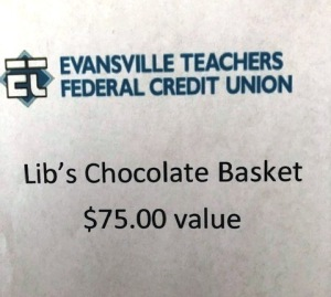 ETFCU Lib's chocolate basket