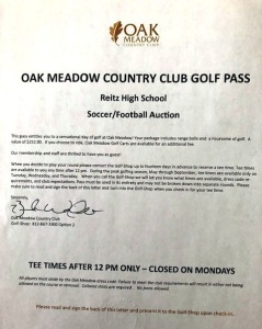 Foursome to Oak Meadow CC