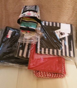 Assorted Thirty One Gift Bags  ranging in price from $30.00-$85.00
