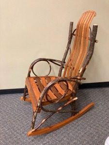 Rustic Rocking Chair
