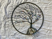 Handmade Wire Tree Hanging