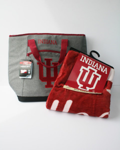 IU Cooler Tote and Blanket